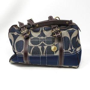 Coach | Blue Denim Style Small Handbag Purse